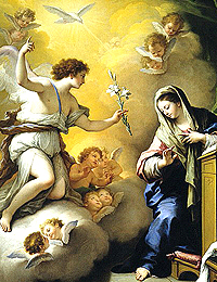 Paolo_de_Matteis_-_The_Annunciation
